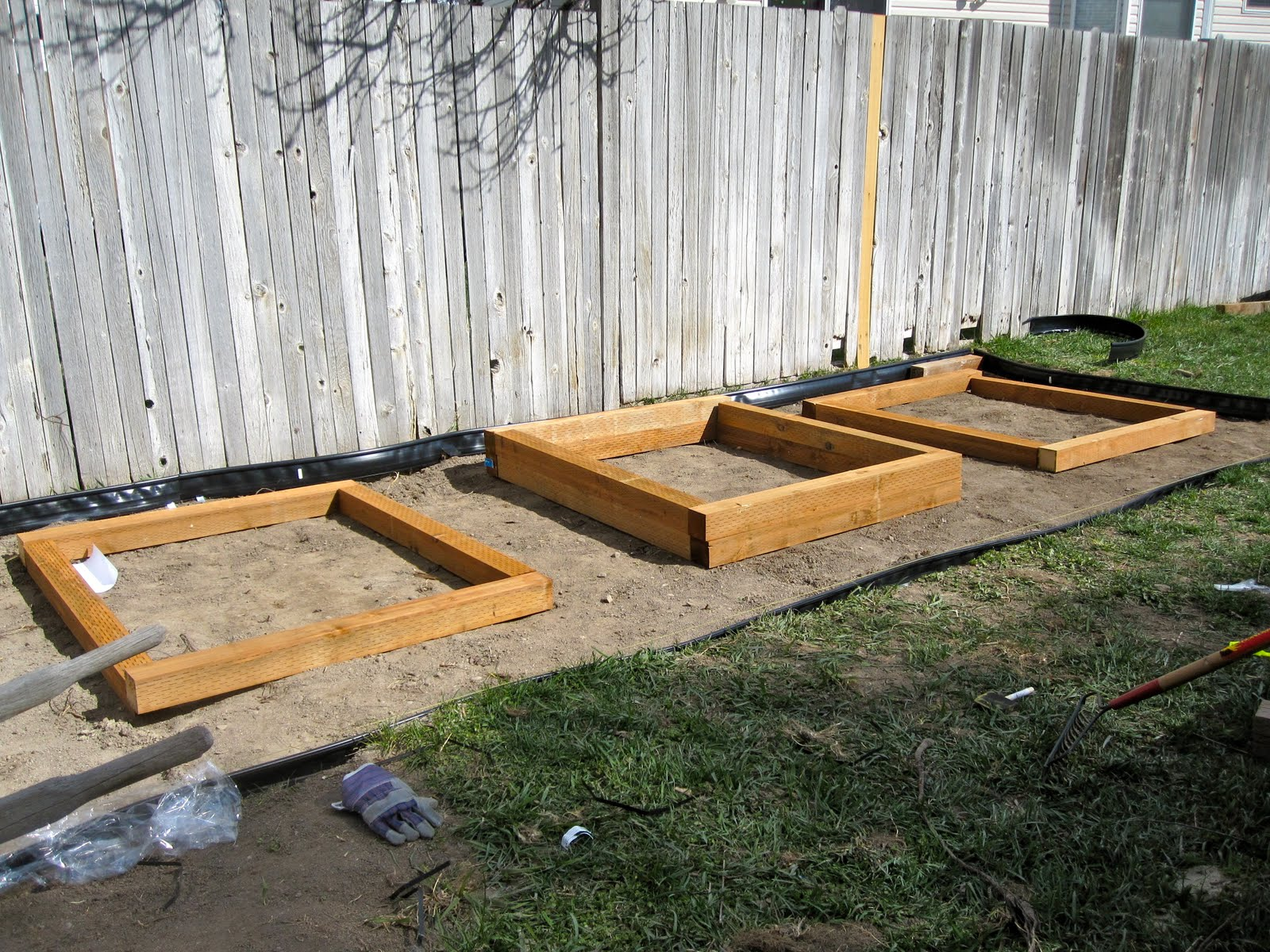 Backyard Garden Box Design