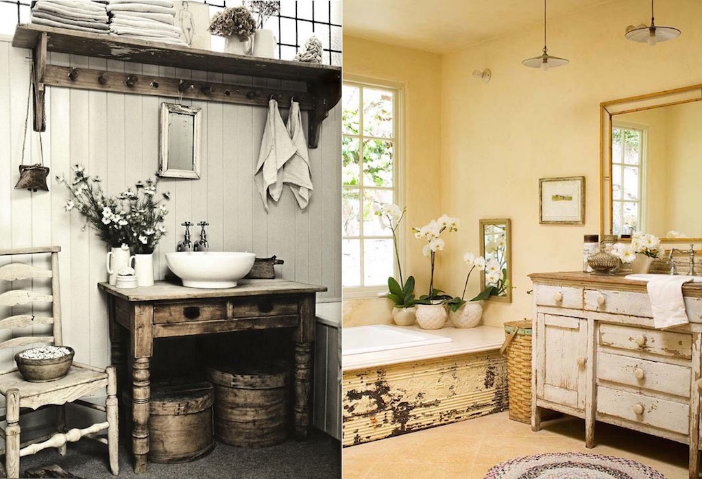 Vintage Kitchen Interior Design