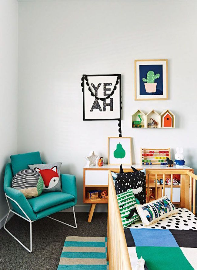 20 Practical And Beautiful Tiny Nursery Design Ideas