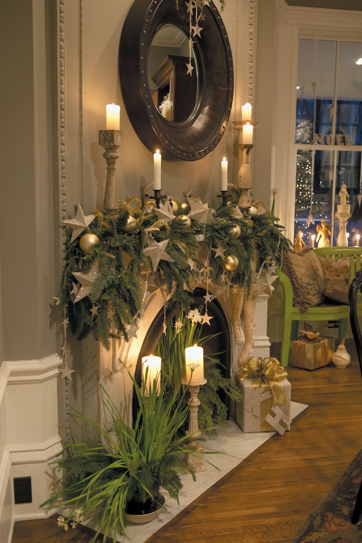 33 Christmas Mantel Decorations Ideas To Try This Year