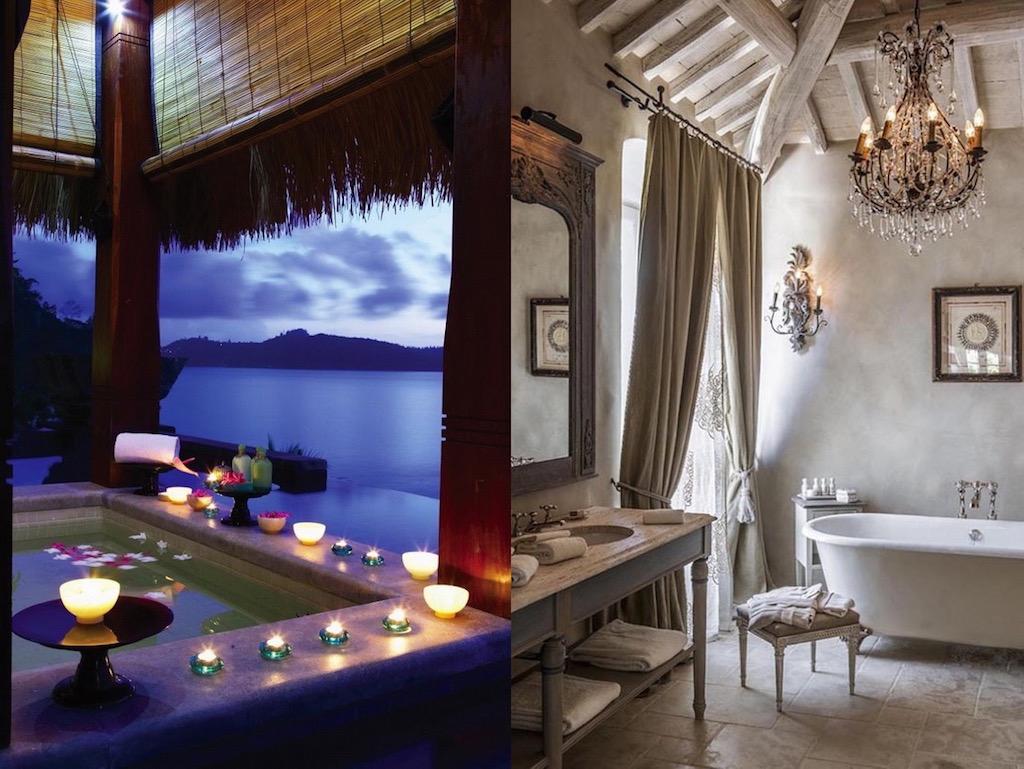21 Romantic Bathroom Designs That You Gonna Love