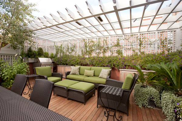 Fresh And Cool Rooftop Garden Designs Interior Vogue