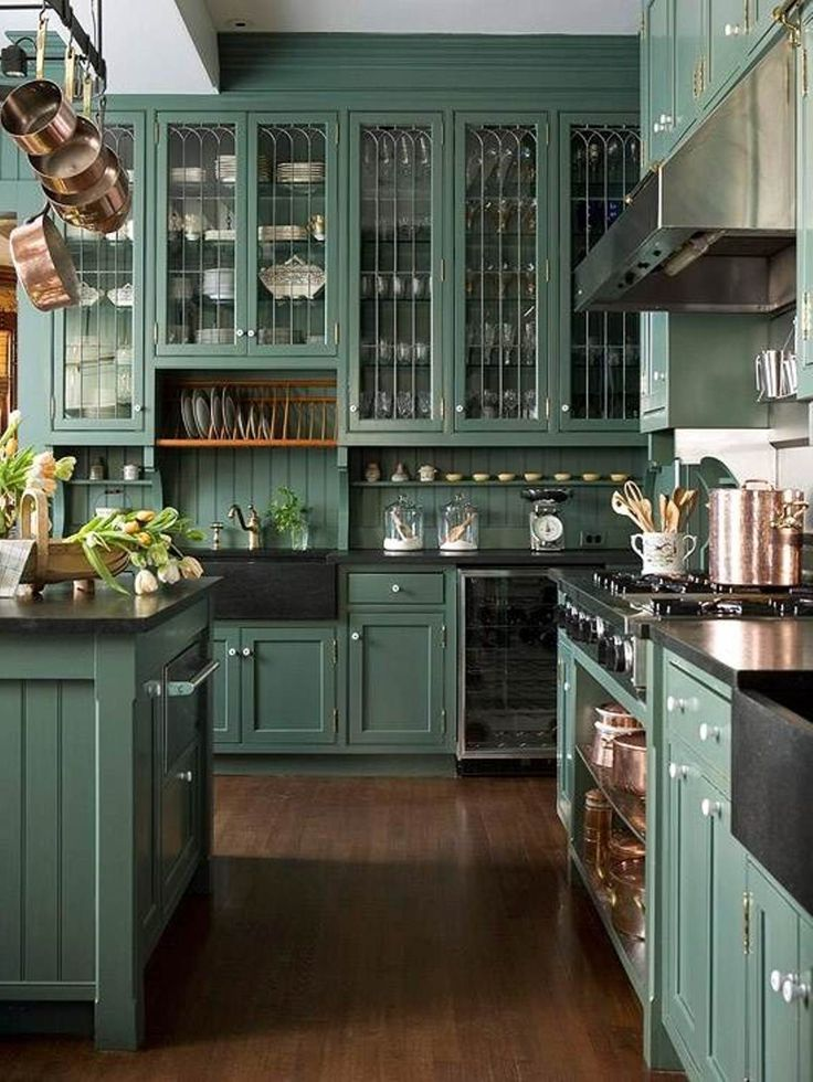 Victorian Design Kitchen Modern
