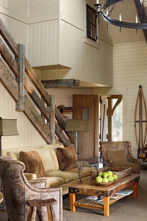 Wood Deck Stairs
