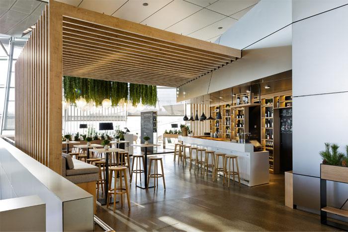 Restaurant Decor With Green Spirit Interiorzine