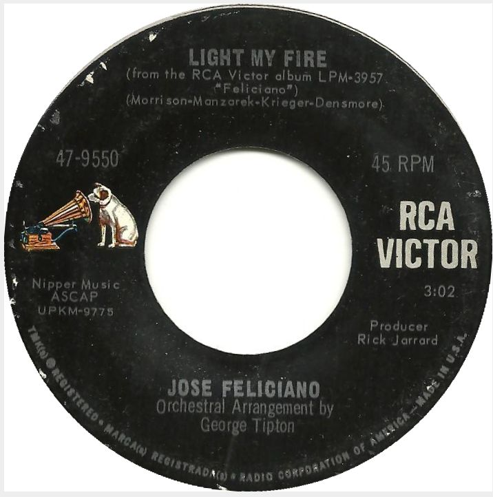Jose Feliciano Light My Fire