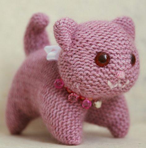 free cat knitting patterns # 8