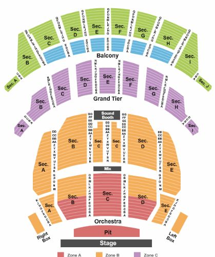 Theater Pit Seating Altria