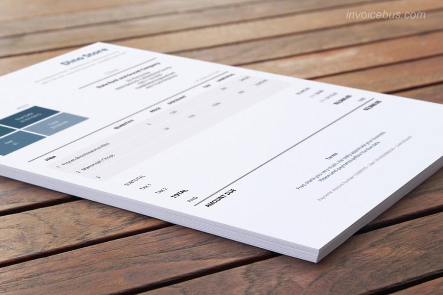 Invoice Template Excel Template Design Best Template Design
