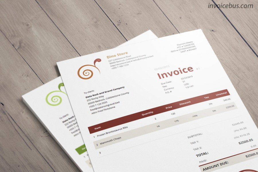 invoice design template template design best template design