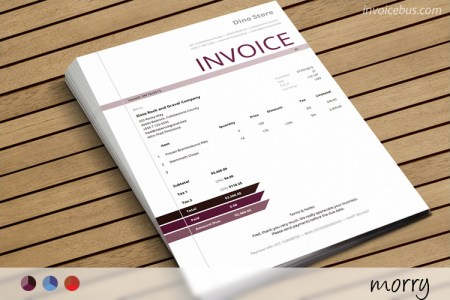 HTML Invoice Template   Morry HTML Invoice Template Morry 0