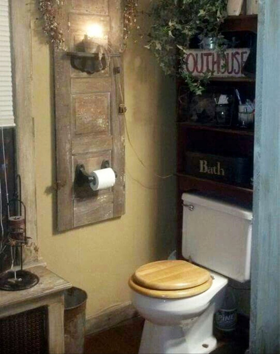 Bathroom Decor Outhouse
