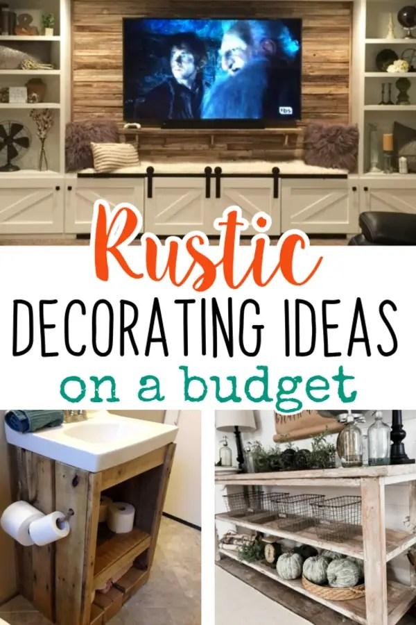 Ideas Budget Room Living Decorating