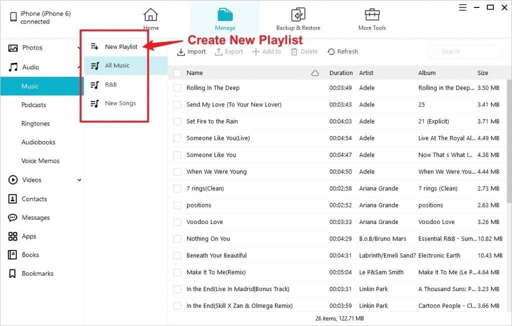 Erstellen Sie lokales iPhone-Musikspiel