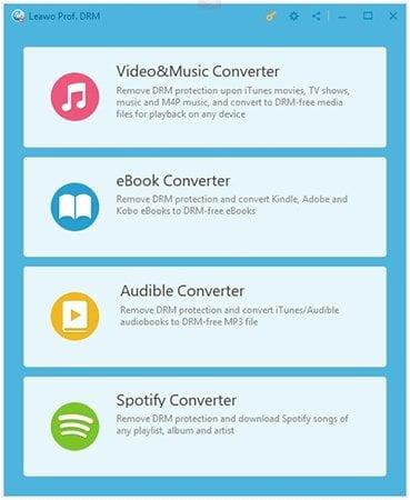 Beginnen Sie mit dem Entfernen von DRM von iTunes Spotify-Musik