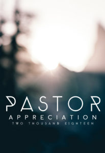 Discipleship Pastor Appreciation Discipleship