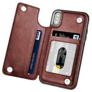20  Must See iPhone X Cases   Accessories   Hoofur iPhone X Case  a wallet case with slots for your credit cards  It  has magnetic clasps to keep your things inside