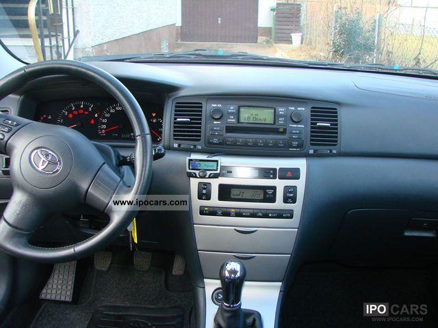 2006 Toyota Corolla 1 4 D 4d Sol Car Photo And Specs