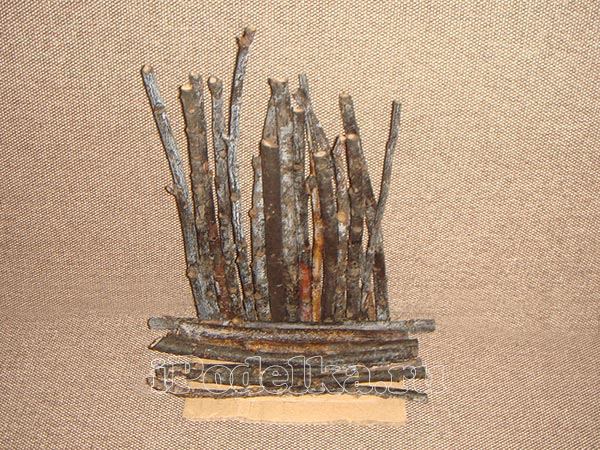 From wooden sticks 2