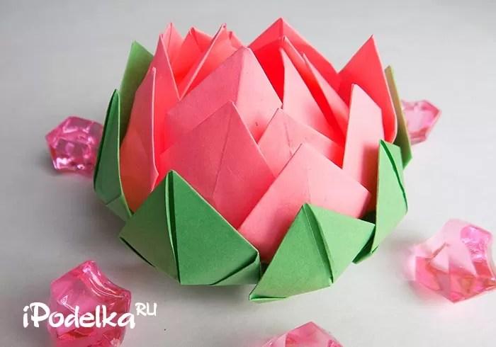 Оригами гүлі Стеговое