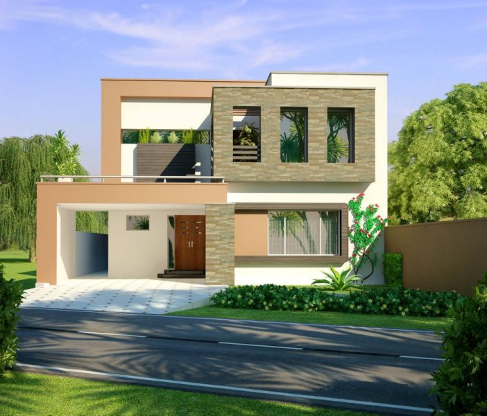 Home Design 3D Front Elevation House Design   W A E company 1 2 3