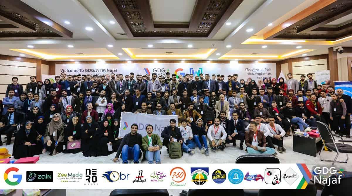 GDG Najaf Group Photo 1