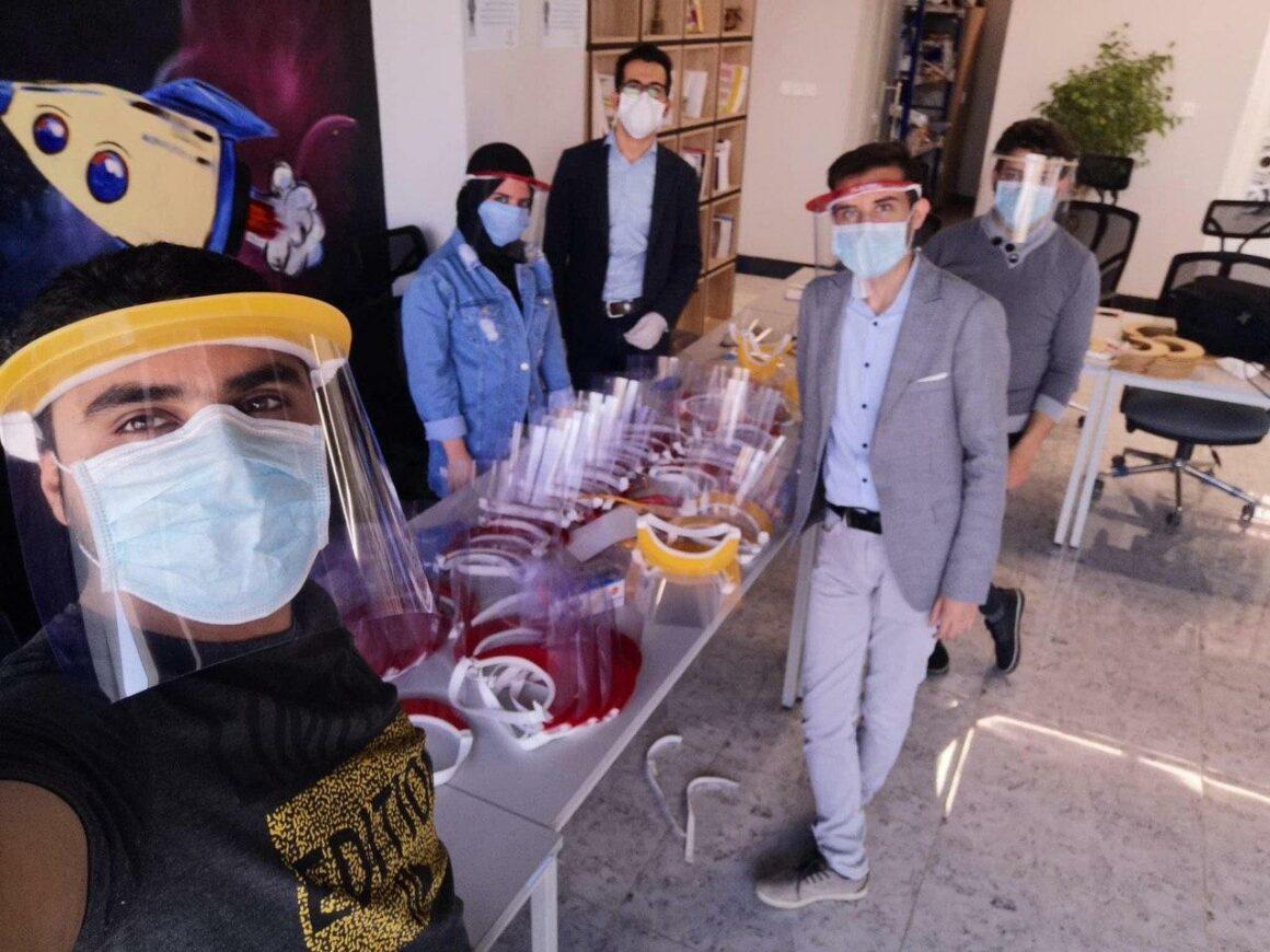 Mosul Space team responding to Coronavirus in Iraq