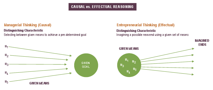 effectual thinking - startups