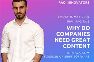 Aza Asim Why do companies need great content?