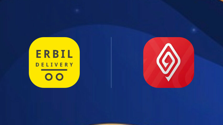 Lezzoo and Erbil Delivery logos