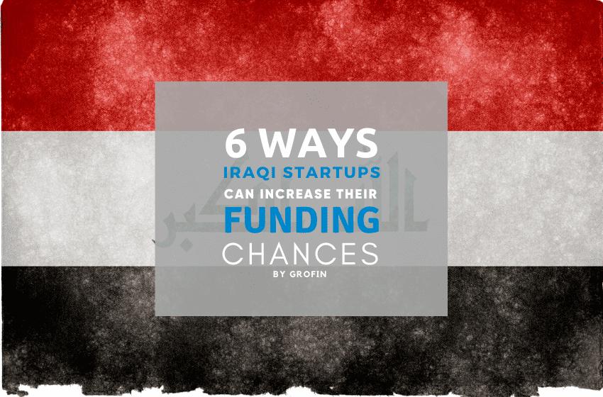 Funding for Iraqi startups