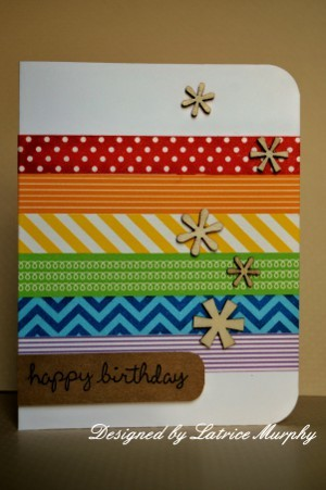 Washi Tape Cards Favecrafts Com