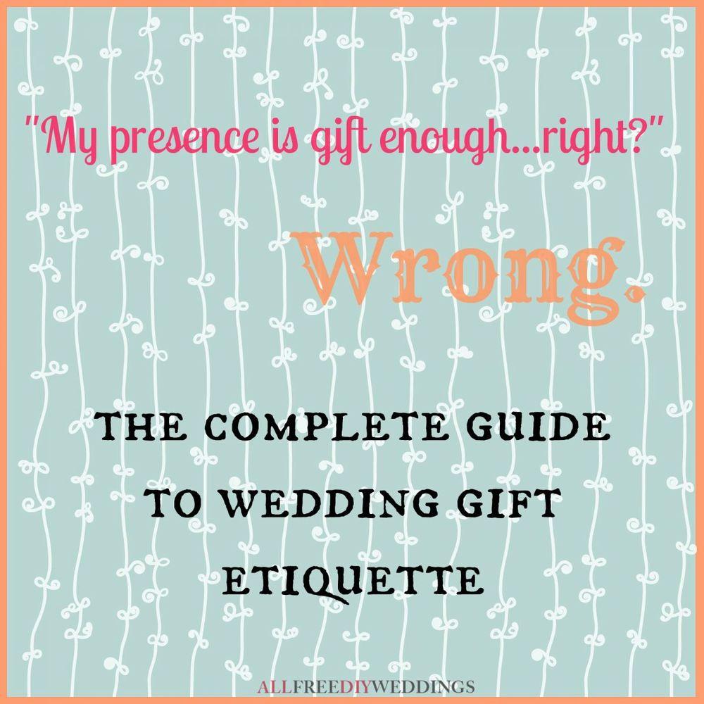 Wedding Gift Etiquette Allfreediyweddings Com