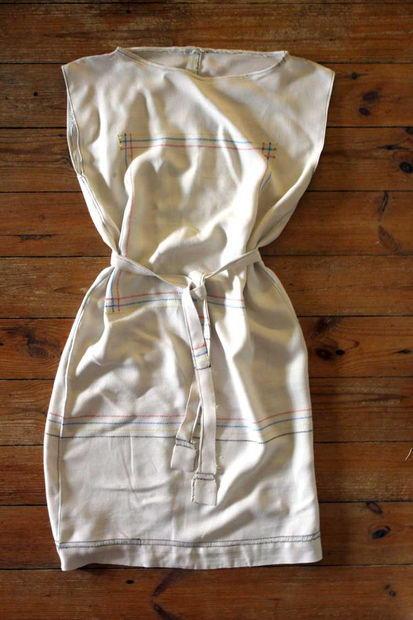 Vintage Tablecloth Dress Diyideacenter Com