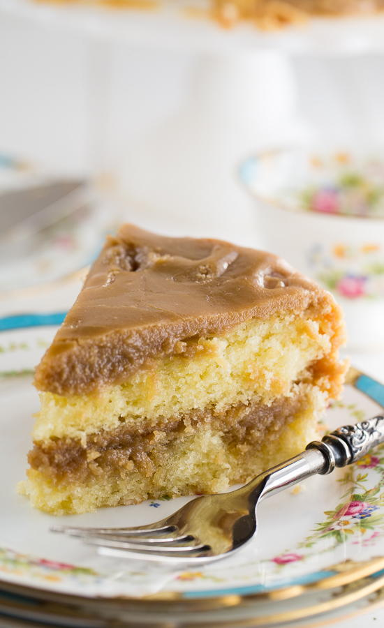 Quick Easy Caramel Cake