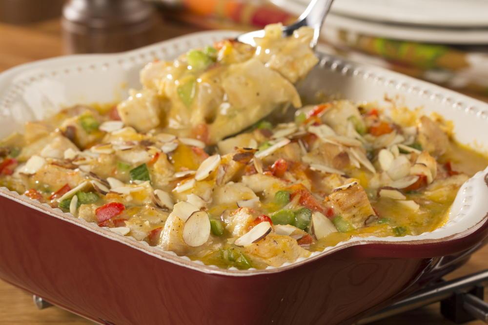 Hot Chicken Salad Casserole Everydaydiabeticrecipes Com
