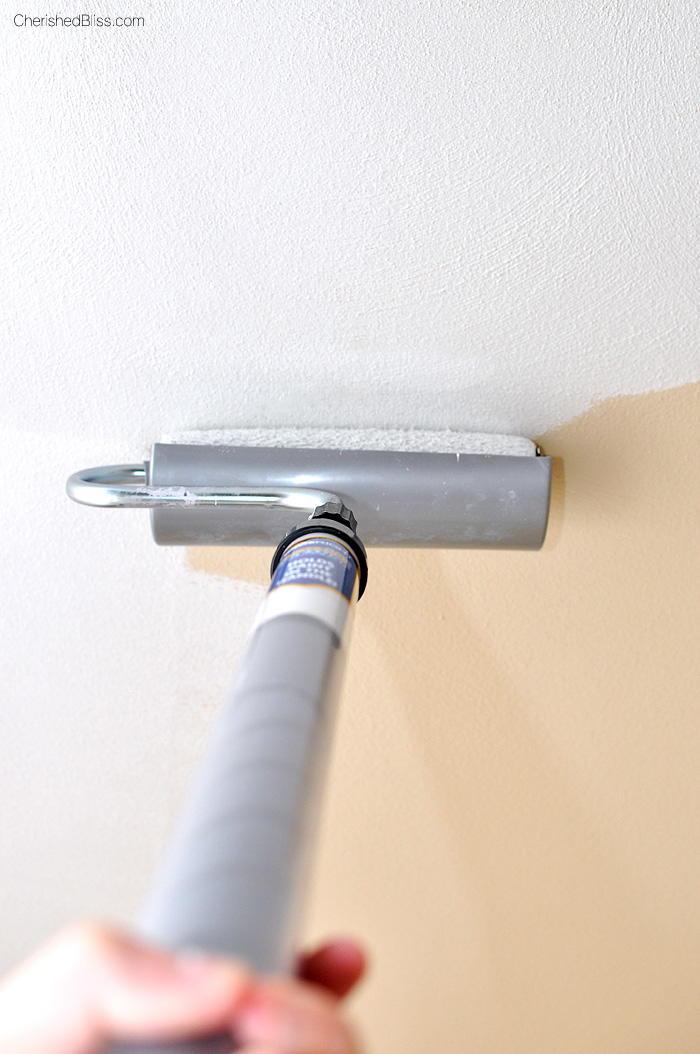 How To Paint A Ceiling Diyideacenter Com