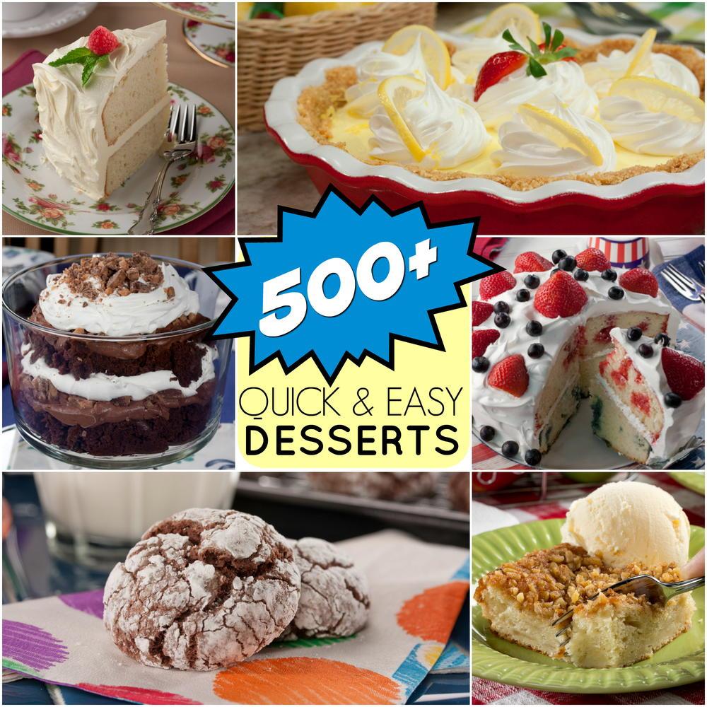 Easy Dessert Cake Recipes