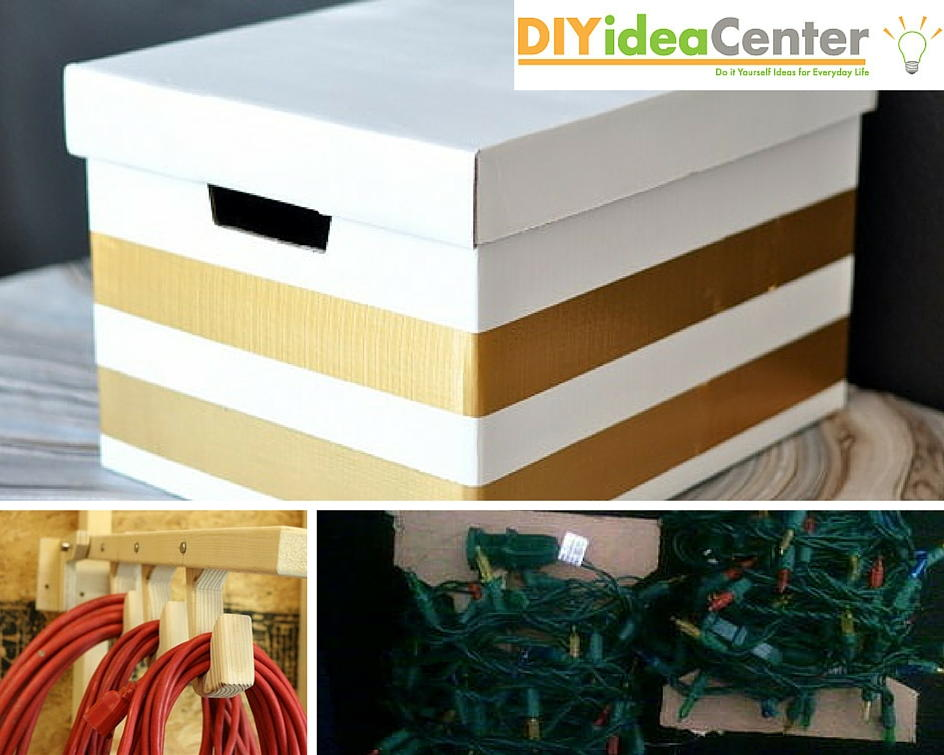 Diy Storage Ideas How To Store Christmas Decorations