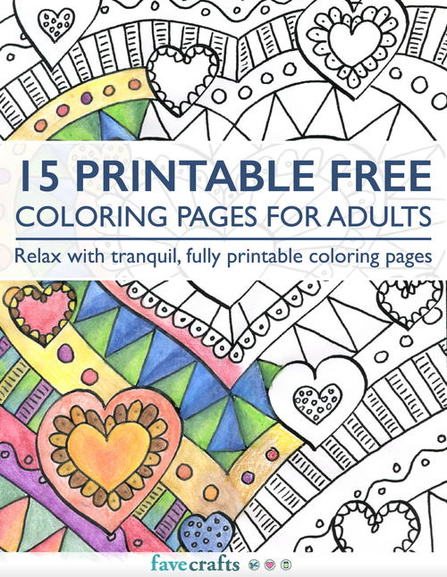 free coloring pages for adults printable # 13