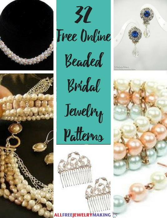 32 Free Online Beaded Bridal Jewelry Patterns Allfreejewelrymaking Com