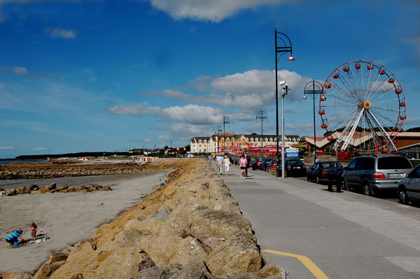 Salthill Promenade Irish America