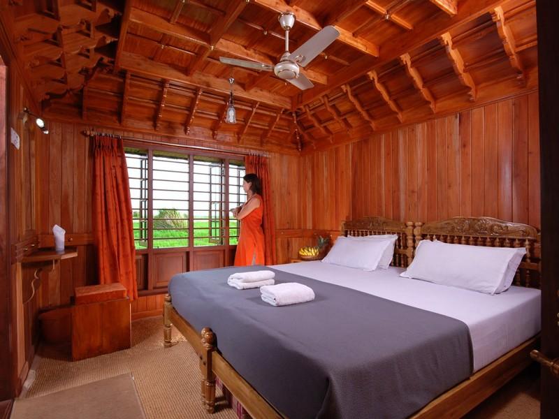 Kerala Houseboat Interior