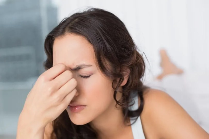 What is the difference between Pressure and Sinus Eye Pain     Sinusitis  also called a sinus contamination  happens when infections get  in the space behind the eyes  nose  and cheeks