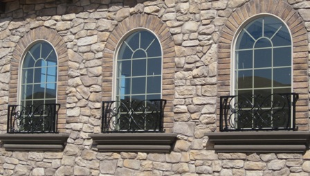 Ironesque Inc Window Rails