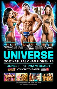 Fitness Universe Weekend 2017 @ Colony Theater | Miami Beach | Florida | United States