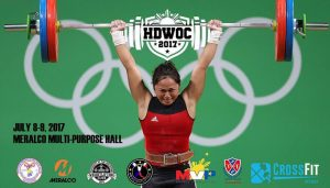 HD WEIGHTLIFTING OPEN CHAMPIONSHIP 2017 @ Meralco Multi Purpose Hall | Pasig | Metro Manila | Philippines