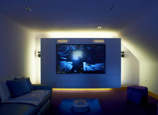Creating Home Theater Room