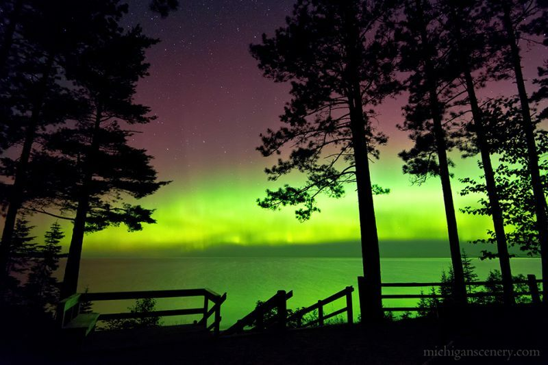 Marquette Northern Lights