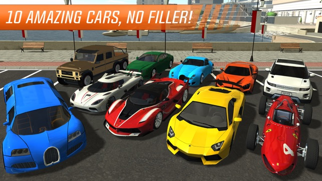 Sports Car Test Driver  Monaco Trials on the App Store Screenshots